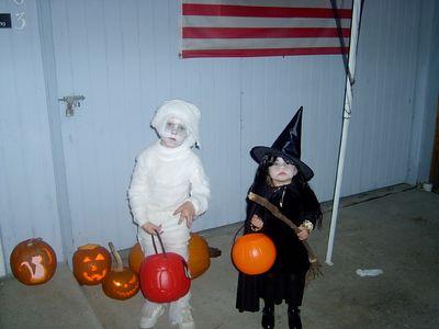 Blake and Nattie Halloween 2004