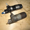 Old versus new clutch slave cylinder