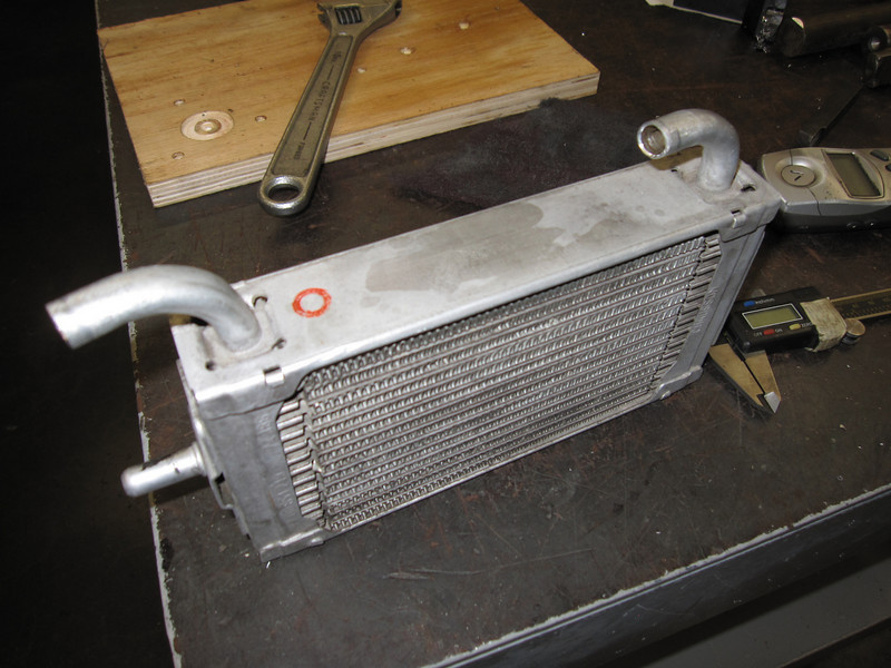Oil cooler mid fab