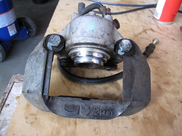 Replacement brake caliper