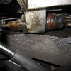 Leaky clutch slave cylinder