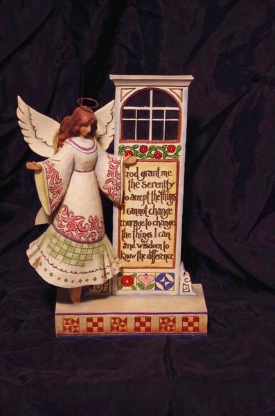 """Seeking Serenity"" Serenity Prayer Angel"