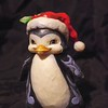 """Waddle I Get You For Christmas"" Pint Size Christmas Penguin"