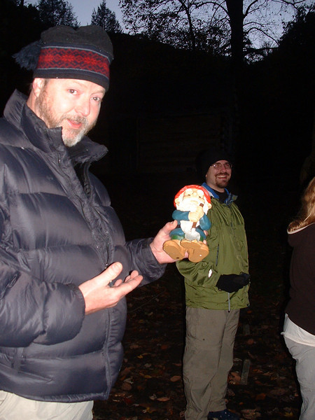 Have you met the traveling gnome?