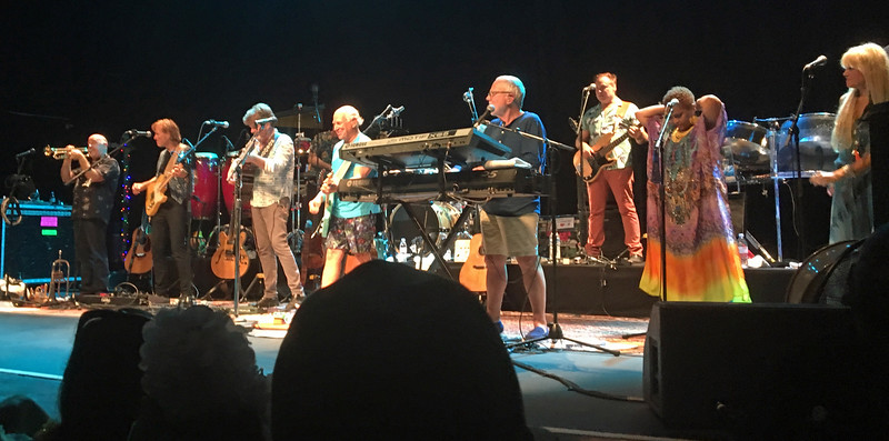 Jimmy Buffet at La Cigale, Paris, September 24, 2016.