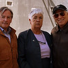 Jimmy Buffett during his visit to the museum, September 2008.  Pictured with Mr. Buffett are Museum Chairman Brian Cullen and our Director/Curator, Mrs. Margaret O`Shaughnessy.