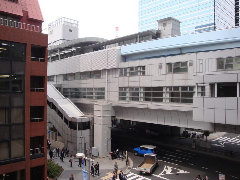 Shiodome Train Station (I think)