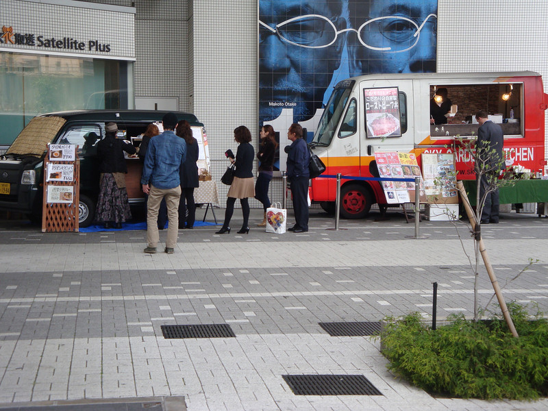 Yes, even in japan, fast food on roadside trailers.