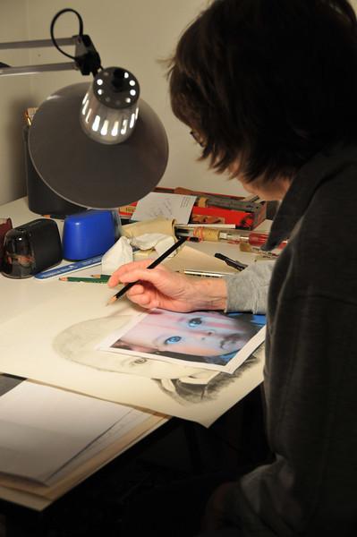 Dorian Drawing by Joan