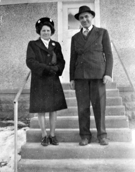 Vernie Von Arx and Joseph Von Arx.