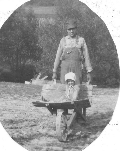 Joe Von Arx and daughter Irene