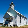 The Community Church at Fox, OR.  Still carefully maintained even though no longer holding services.