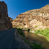 Picture Gorge of the John Day River taken in late afternoon