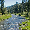 North Fork of the John Day River.  The combination of the North, Middle and South Forks drain a large area in Eastern Oregon and the main river then finally empties into the Columbia over 200 miles downstream.