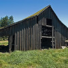 Classic old barn at Short Birch Creek Lane on US Hwy 395