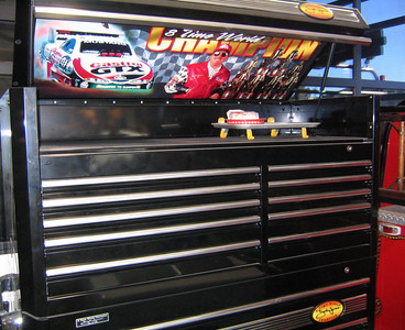 ESSENTIAL TOOLS -- A John Force tool box.