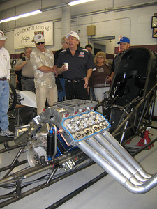 WHICH IS HOTTER? -- John Force, or his custom headers?
