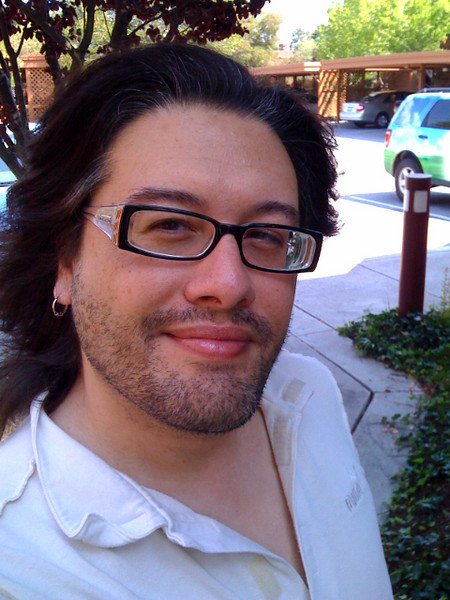 My new haircut!  Circa July 2008, taken on my new iPhone 3G.