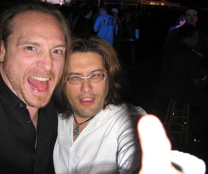 This is Rob Atkins and me, taken at the Sony party at E3.