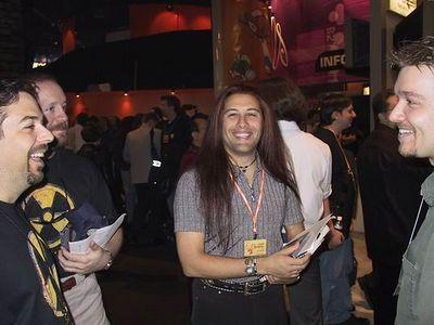 Scott Miller, me and Chris Rhinerhart at E3 (1999)