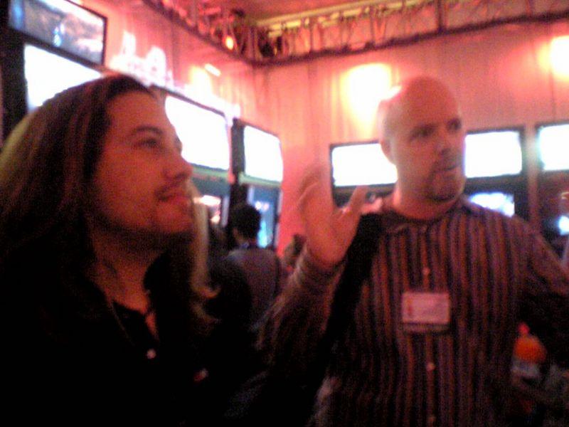 Me and Tom at  E3 (2005)