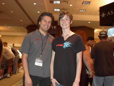 At Quakecon (2002).