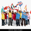 TA17.1 m556 / Choice 10 of 10 / BJHK24 Children waving flags. Image shot 2008. Exact date unknown.