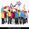TA17.1 m556 / Choice 10 of 10 / BJHK24 Children waving flags. Image shot 2008. Exact date unknown.