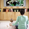 TA17.18 m581 / Choice 2 of 7 / Mother and Daughter Watching TV