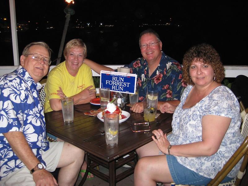 John, Wendy, Mary Ann, Tom in Hawaii