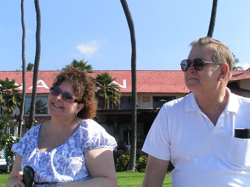 John and Wendy at Kailua-Kona