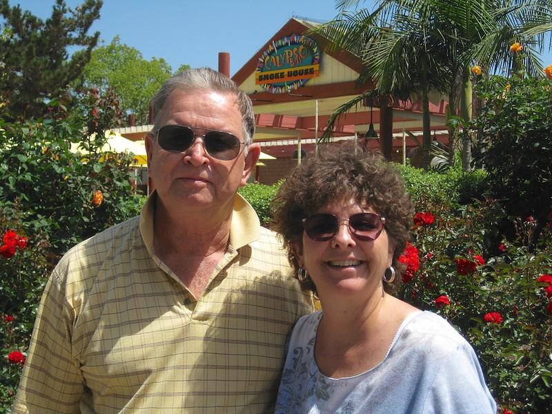 John and Wendy at SeaWorld