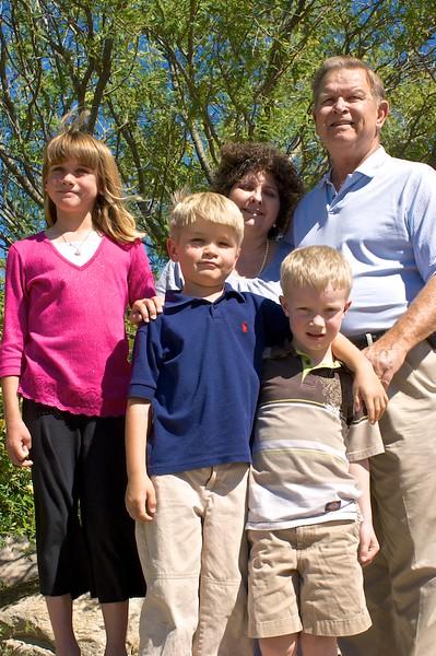 John, Wendy, and Grandkids
