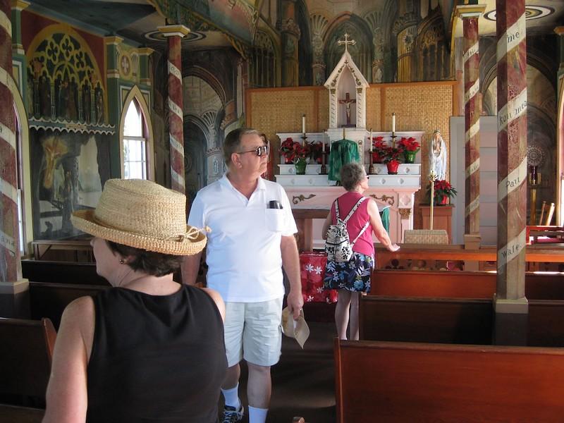 John at the Painted Church-Hawaii