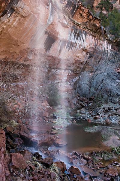 Falls at Emerald Pools