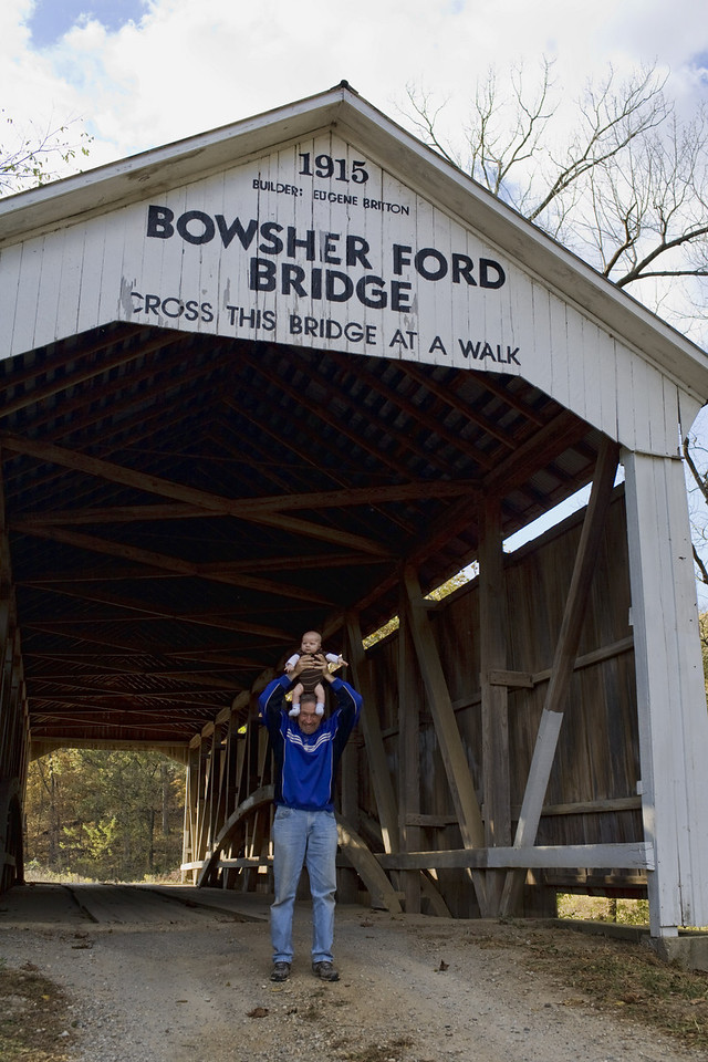 All Covered Bridge pix were taken on Friday Oct. 15th.