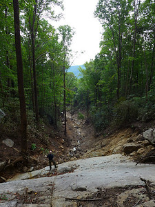 Jones Gap Landslide