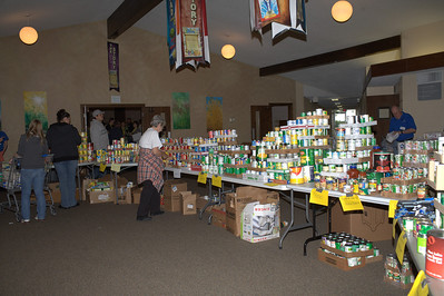 They were so organized and set up to meet the needs of the community. Donations were pouring in.
