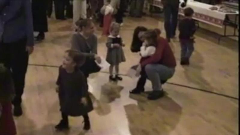 Jordan's Christmas program Kindercare age 2