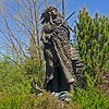 Chief Joseph, sculpture by David Manuel, on Main Street in Joseph, Oregon.  Photo was taken by my wife, Dicksie with Sony V3