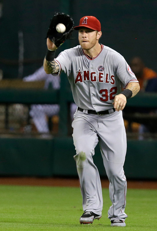 . JUNE 28: Hamilton went 2 for 3 with a double and a run scored as the Angels won 4-2 at Houston.. (AP Photo/Pat Sullivan)