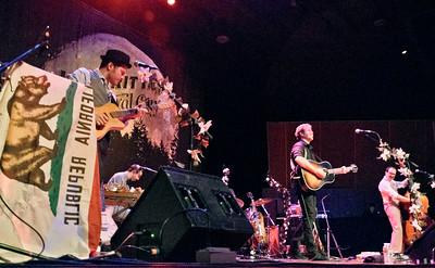 Josh Ritter at Chautauqua Auditorium on July 16, 2012. Photos by Jeb Draper, heyreverb.com.