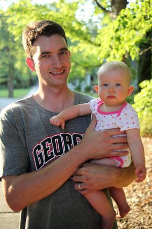 Josh and baby girls