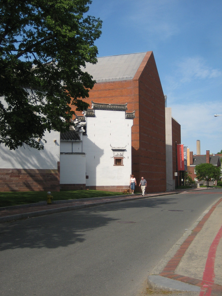 "On left is the back of Peabody Essex Museum, including a very old Chinese house that was moved from China and rebuilt here in 2003!  We decided to return the next day to tour that house and museum.  See <a href=""http://sward.smugmug.com/gallery/8327191_AztS6"">separate album</a>."