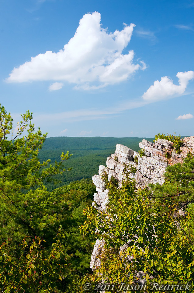August 20th,  View from Pole Steeple hike.  This place has an great view!