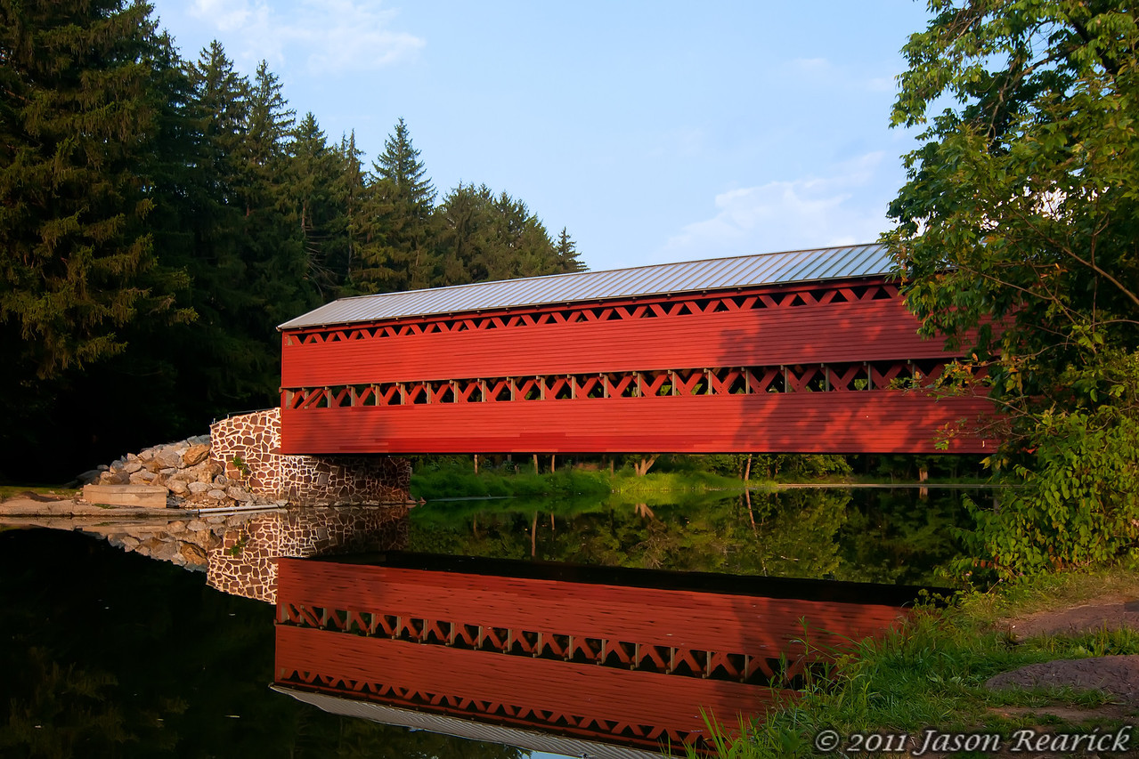 August 18th, Sachs Covered Bridge.  This bridge was just outside Gettysburg, Pa.  Very nice place, and makes for some nice images!