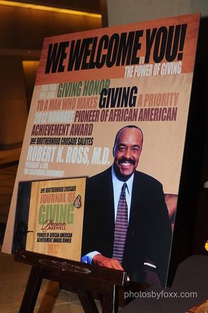 The Brotherhood Crusade Pioneer Of African American Achievement Awards Dinner 2012