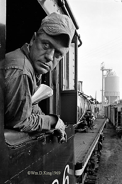 """Train Engineer"", photographed in Bowie, Maryland."