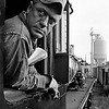 """""""Train Engineer"""", photographed in Bowie, Maryland."""