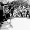 """Billy Graham"", photographed opening Vietnam War Memorial in District of Columbia."